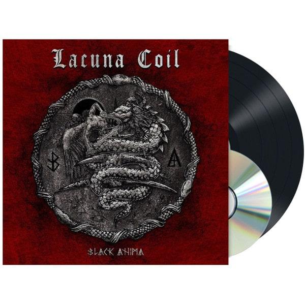 LACUNA COIL / ラクーナ・コイル / BLACK ANIMA<LP+CD/BLACK VINYL>