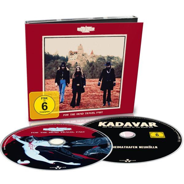 KADAVAR / カダヴァー / FOR THE DEAD TRAVEL FAST<CD+BLU-RAY/DIGI>