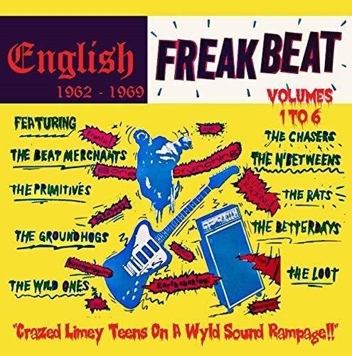 V.A. (ENGLISH FREAKBEAT) / ENGLISH FREAKBEAT 1962 - 1969; VOLUMES 1 - 6 (6CD BOX)