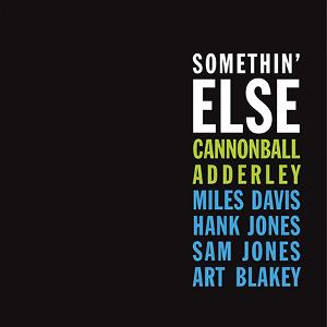 CANNONBALL ADDERLEY / キャノンボール・アダレイ / Somethin' Else(LP/180g)