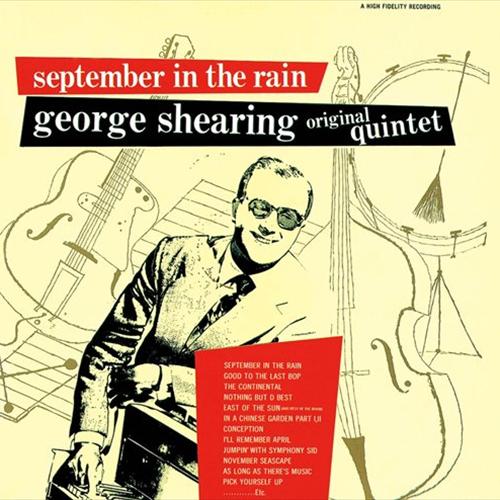 GEORGE SHEARING / ジョージ・シアリング / SEPTEMBER IN THE RAIN / 九月の雨