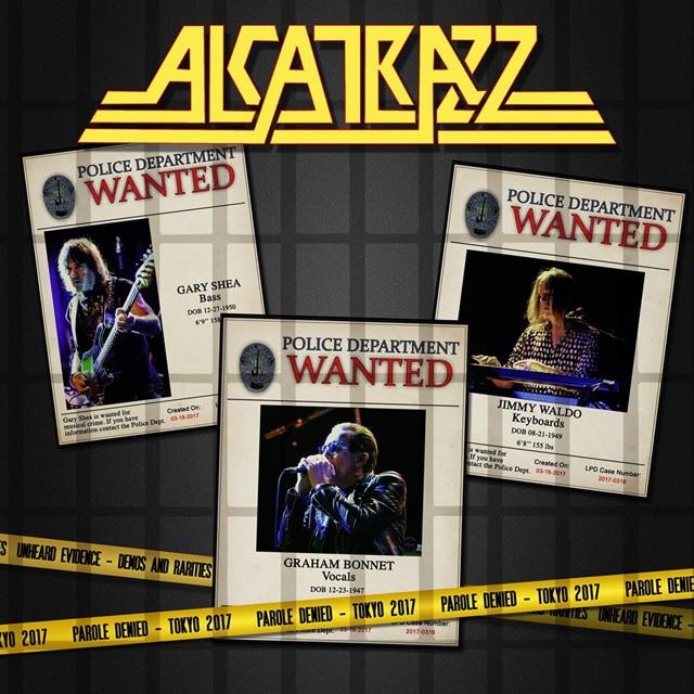 ALCATRAZZ / アルカトラス / PAROLE DENIED-TOKYO 2017 / パロール・デナイド・トーキョー 2017<2CD+DVD>
