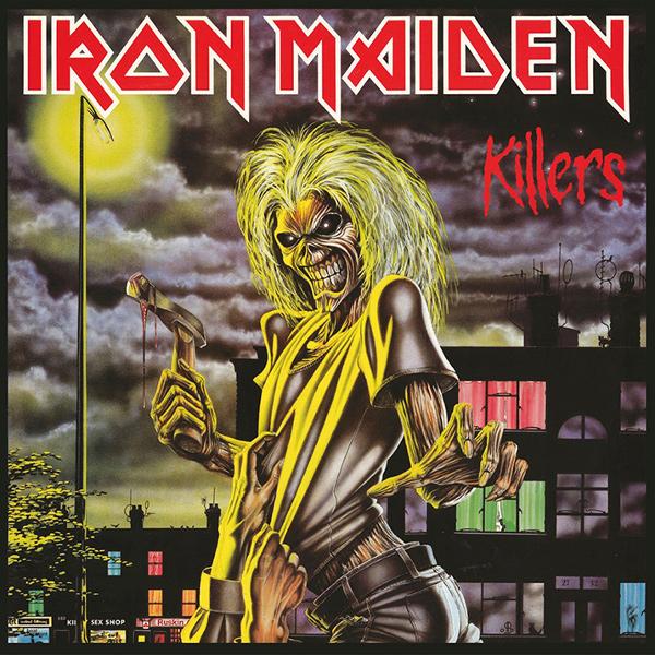 IRON MAIDEN / アイアン・メイデン / KILLERS / キラーズ(ザ・スタジオ・コレクション・リマスタード)