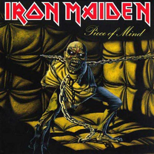 IRON MAIDEN / アイアン・メイデン / PIECE OF MIND / 頭脳改革(ザ・スタジオ・コレクション・リマスタード)