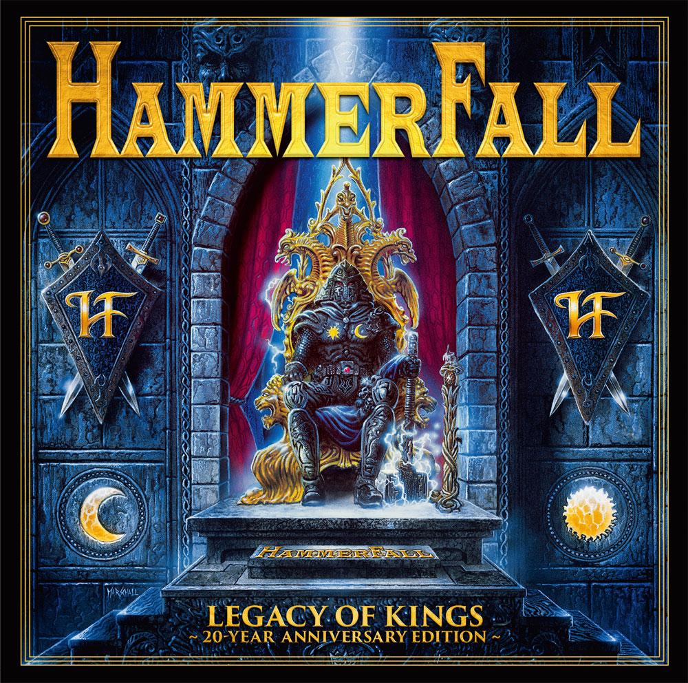 HAMMERFALL / ハンマーフォール / LEGACY OF KINGS - 20 YEAR ANNIVERSARY EDITION - / レガシー・オブ・キングス~20周年記念盤