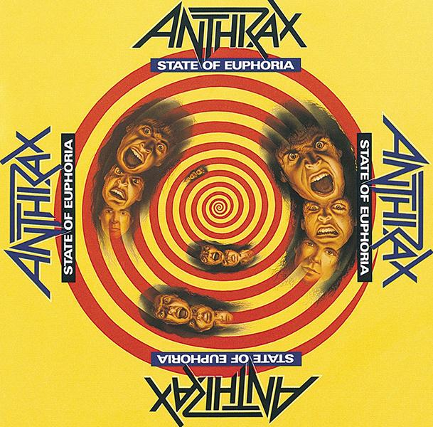 ANTHRAX / アンスラックス / STATE OF EUPHORIA(30TH ANNIVERSARY EDITION / JAPAN VERSION) / ステート・オブ・ユーフォリア(30周年記念2CDデラックス・エディション)