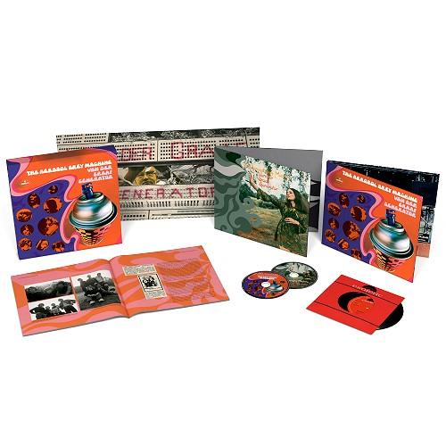 VAN DER GRAAF GENERATOR / ヴァン・ダー・グラフ・ジェネレーター / THE AEROSOL GREY MACHINE: 50TH ANNIVERSARY LIMITED EDITION DELUX BOX - REMASTER / エアゾール・グレイ・マシーン:発表50周年記念デラックス・エディション