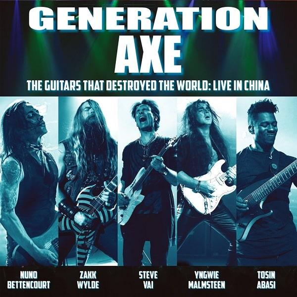 GENERATION AXE / ジェネレーション・アックス / THE GUITARS THAT DESTROYED THE WORLD -LIVE IN CHINA - / ザ・ギターズ・ザット・デストロイド・ザ・ワールド ~ライヴ・イン・チャイナ