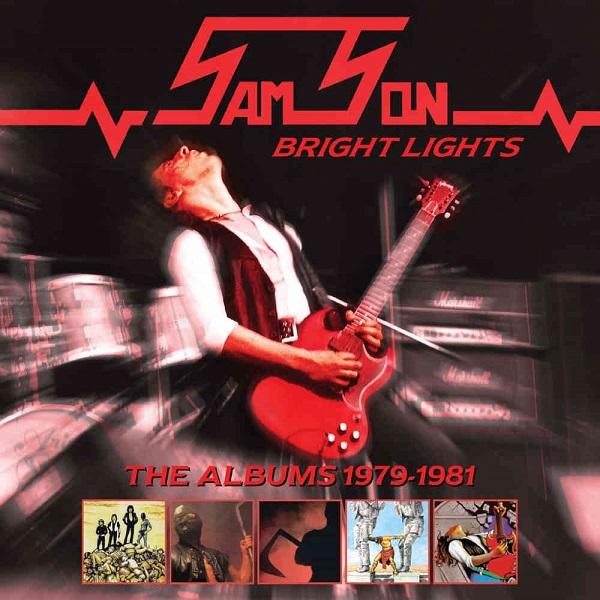 SAMSON (METAL) / サムソン / ブライト・ライツ~ジ・アルバムズ 1979-19811981<5CD/BOX仕様>