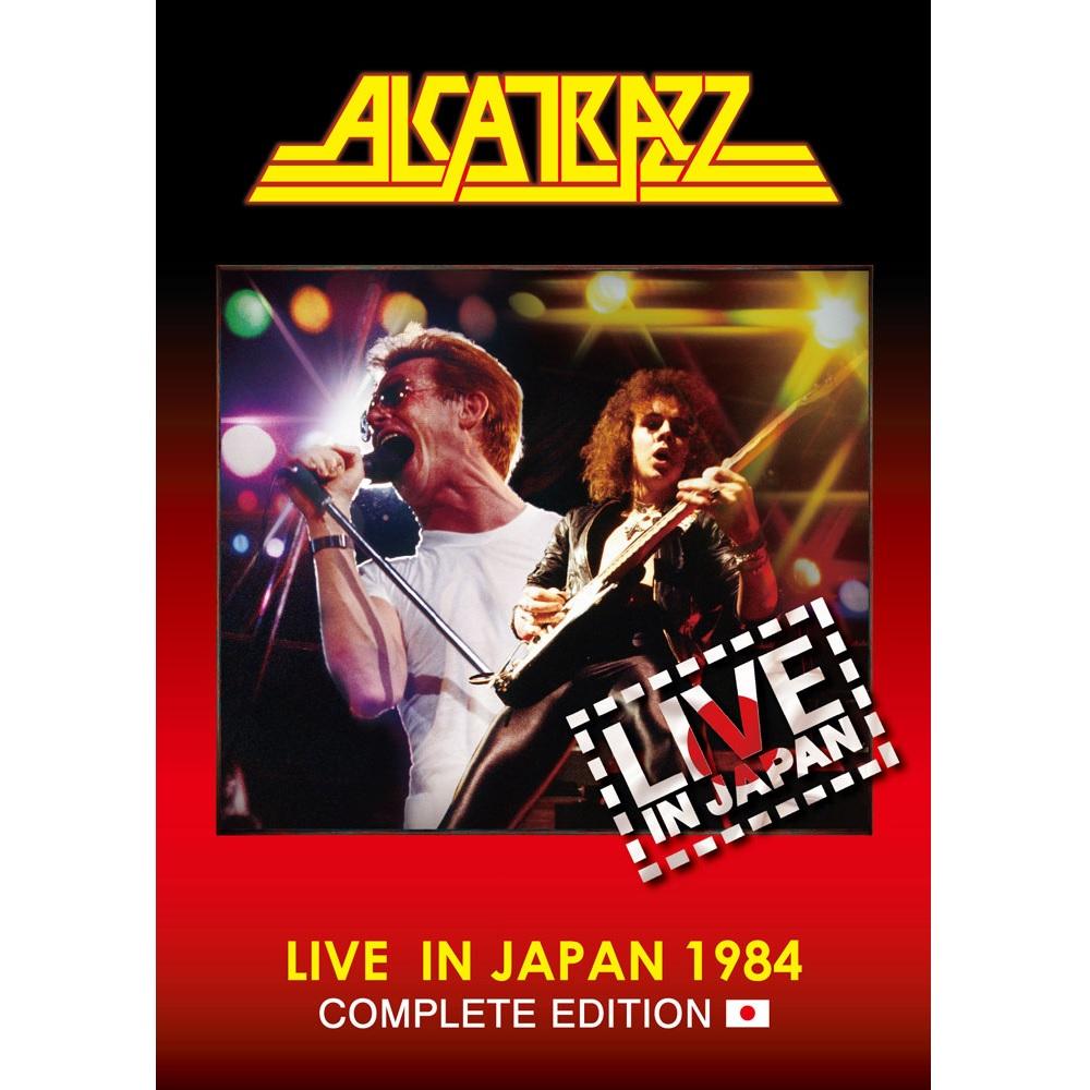 ALCATRAZZ / アルカトラス / LIVE IN JAPAN 1984 COMPLETE EDITION  / ライヴ・イン・ジャパン1984 -コンプリート・エディション<初回限定盤ブルーレイ+2CD>