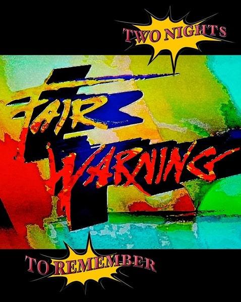 FAIR WARNING / フェア・ウォーニング / TWO NIGHTS TO REMEMBER / トゥー・ナイツ・トゥ・リメンバー<2ブルーレイ>