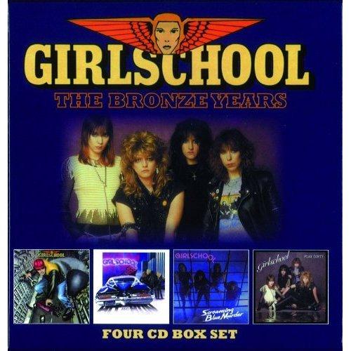 GIRLSCHOOL / ガールスクール / THE BRONZE YEARS<4CD BOX>