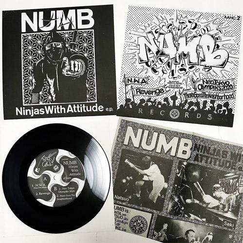 NUMB (JPN/HC) / Ninjas With Attitude