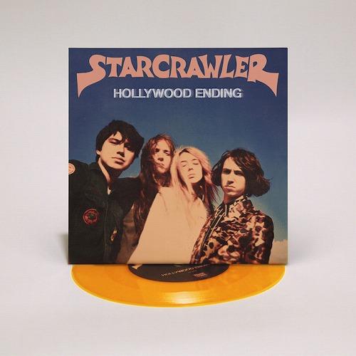 "STARCRAWLER / スタークローラー / HOLLYWOOD ENDING (7""/ORANGE VINYL)"