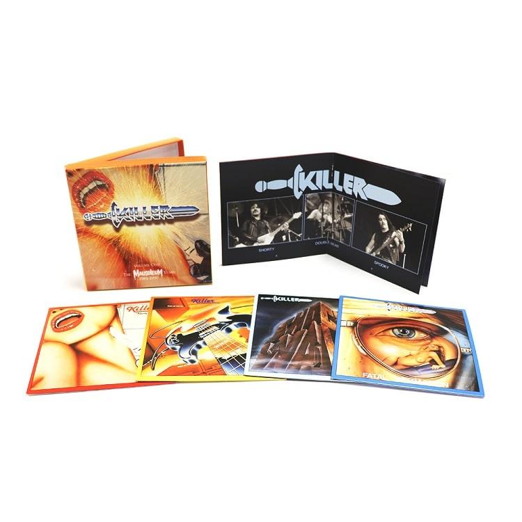 KILLER (from Belgium) / VOLUME ONE:THE MAUSOLEUM YEARS 1981-1990<4CD/BOX>